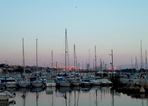 Port de l'Estaque-Marseille, Août 2013, 21 heures